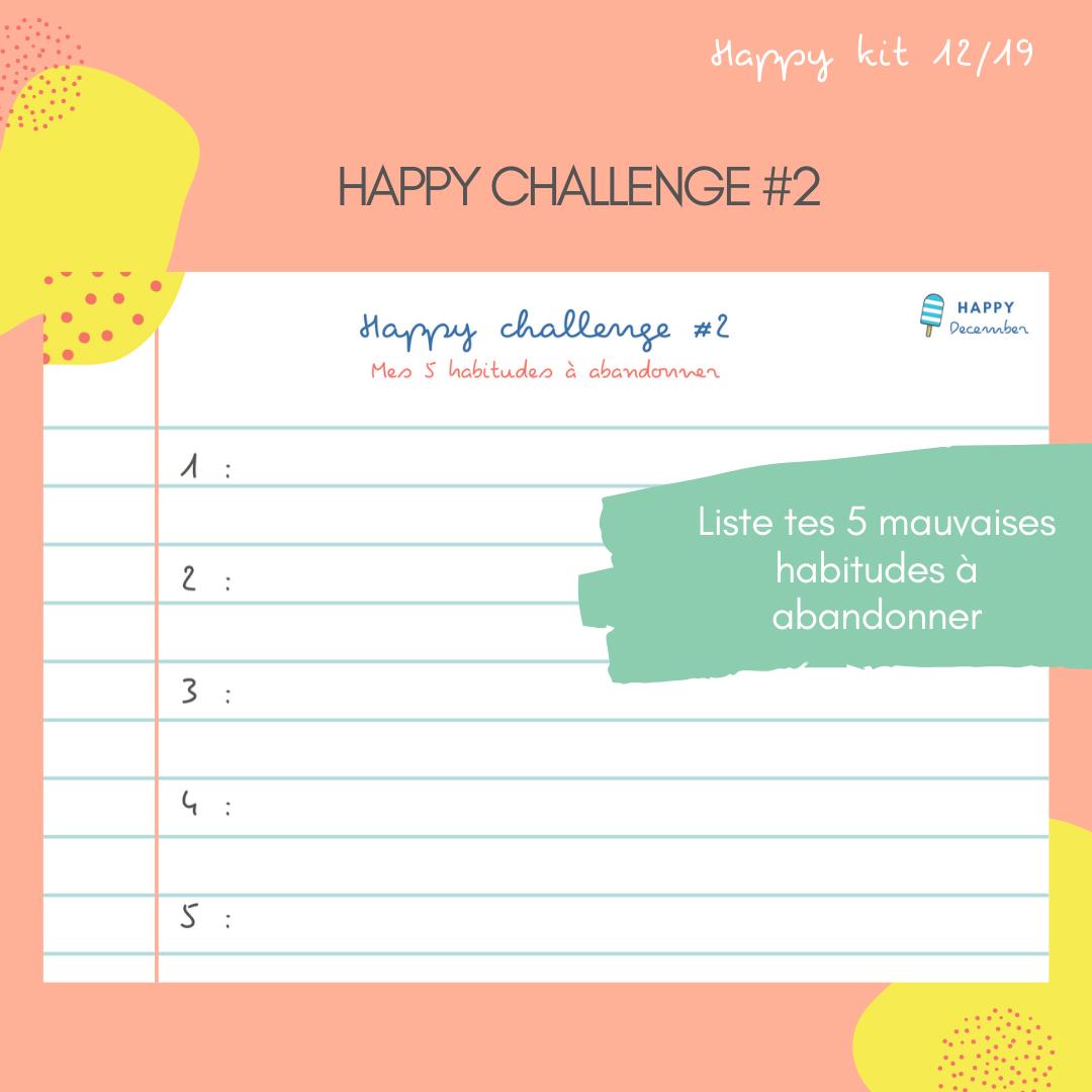 happy challenge