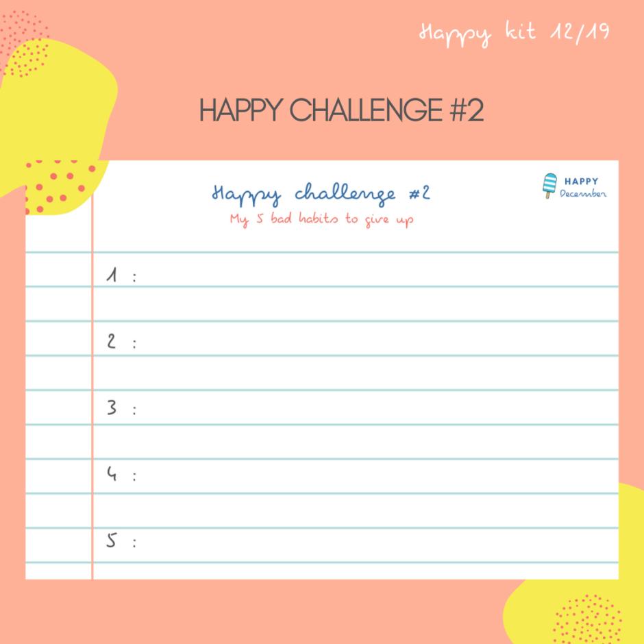 happy challenge 2