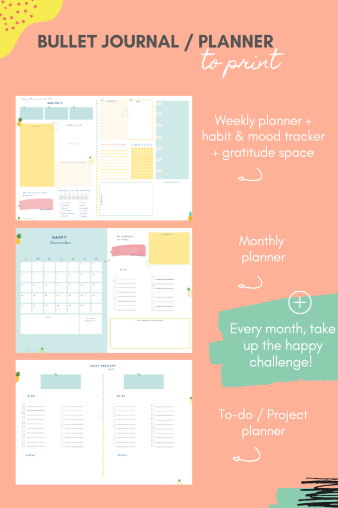 Bullet journal to print
