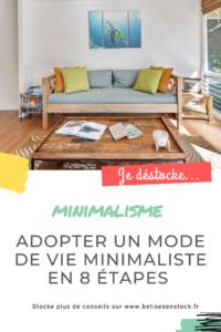 Adopter un mode de vie minimaliste